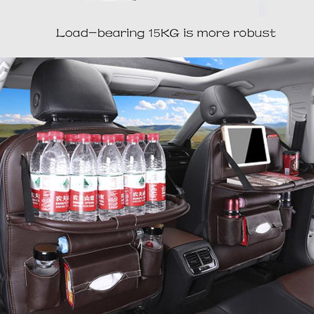Car seat storage bag Hanging bags car seat back bag Car baby safety seat Multifunction storage box Shopping cart seat