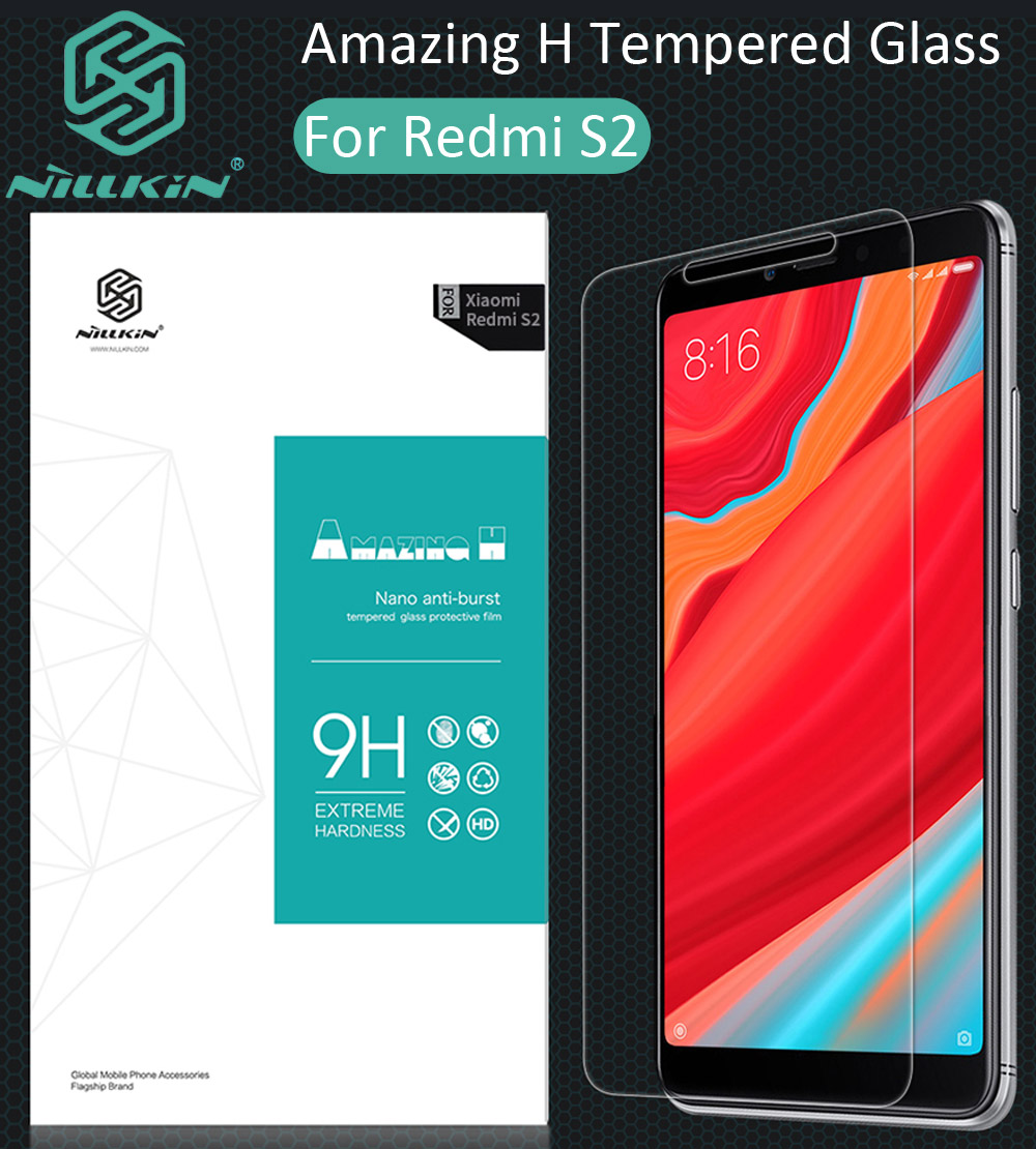 Nillkin Amazing H Tempered Glass For Xiaomi Redmi S2 oleophobic Protective