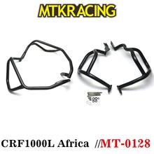 MTKRACING Upanddown Crash Bar Engine Guard Bumper Frame Protector for 2016-2017 Honda CRF 1000 L 1000L Africa Twin ABS CRF1000L