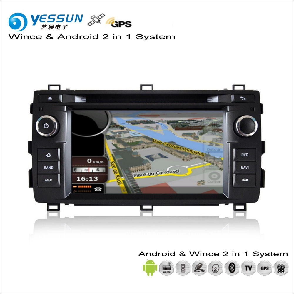 YESSUN For Toyota Auris 2013~2014 Car Android Multimedia