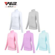 Pgm Женская одежда для гольфа летняя уличная спортивная вискозная