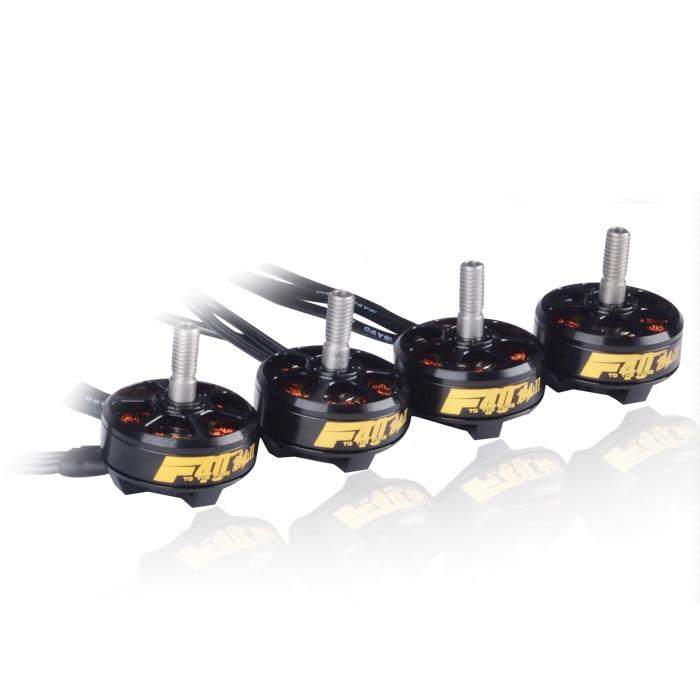 T-motor F40II KV2600 moteur Brushless 3-4 S 2600KV Kit moteur pour FPV QAV200 210 220 FPV Kit de cadre de course