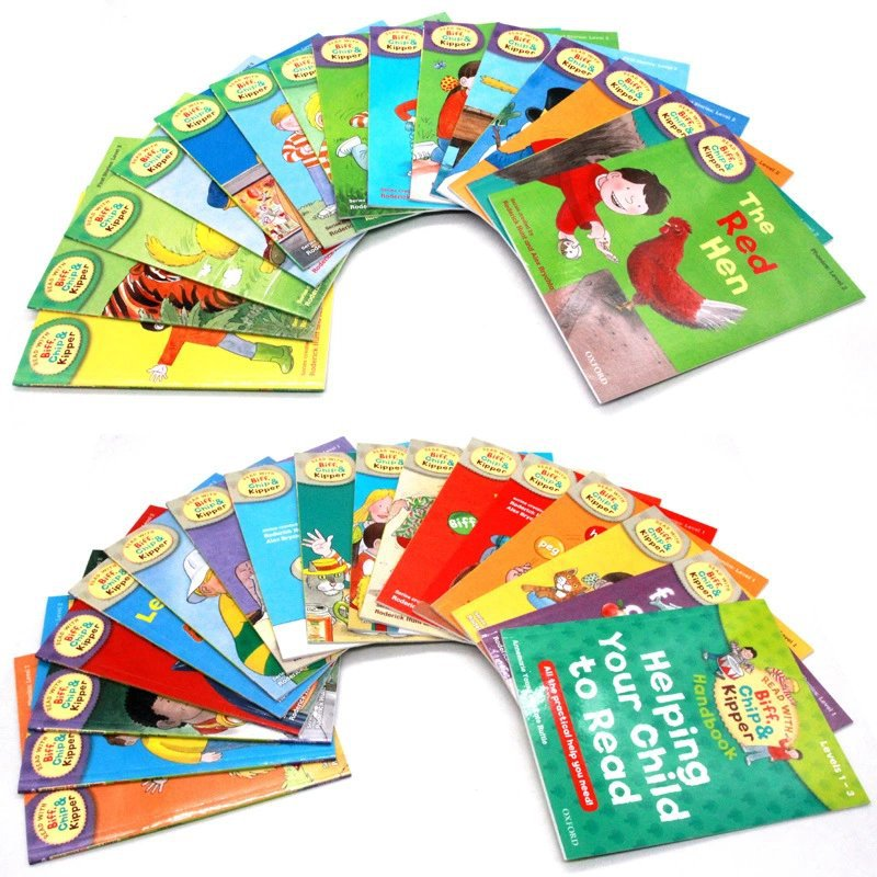 Image 4 - Oxford ReadingTree English Reading Book Helping Your Child to Read 1 3 Level  33pcs/set-in Books from Office & School Supplies