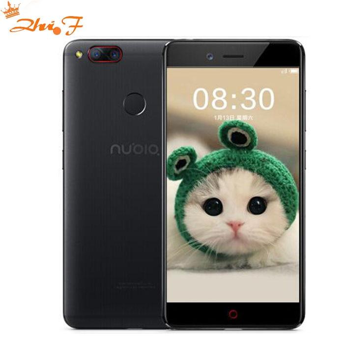 ZTE Nubia Z17 Mini 5.2 Pouce Snapdragon 652 MSM8976 Octa Core 4 GB RAM 64 GB ROM 1920X1080 Double Arrière 13.0MP Mobile téléphone