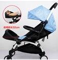 Nova Extensão 16cm, descanso de pés, com pára-choque para bebê dormir que combina com carrinho de bebê kissbaby