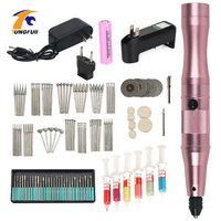 Dremel Tools Rechargeable Lithium Ion Battery EU Cordless Drill Battery Dremel Accessories Nail Drill Pen Accessory Kit