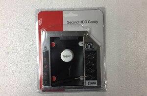 9.5MM 2nd Hard Drive HDD SSD Caddy Adapter for Dell E6330 E6520 E6320 E6430 E6530 E6420