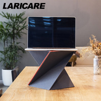 Levit8 Ergonomic Laotop Lapdesk For Laptop Pc Notebook Computer With Four Size Foladed Adjusable Laptod Standing