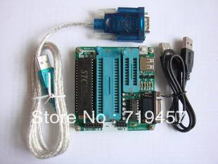 FREE SHIPPING Ep51 burner at89 stc series of dual-use 51 microcontroller programmer bookishness