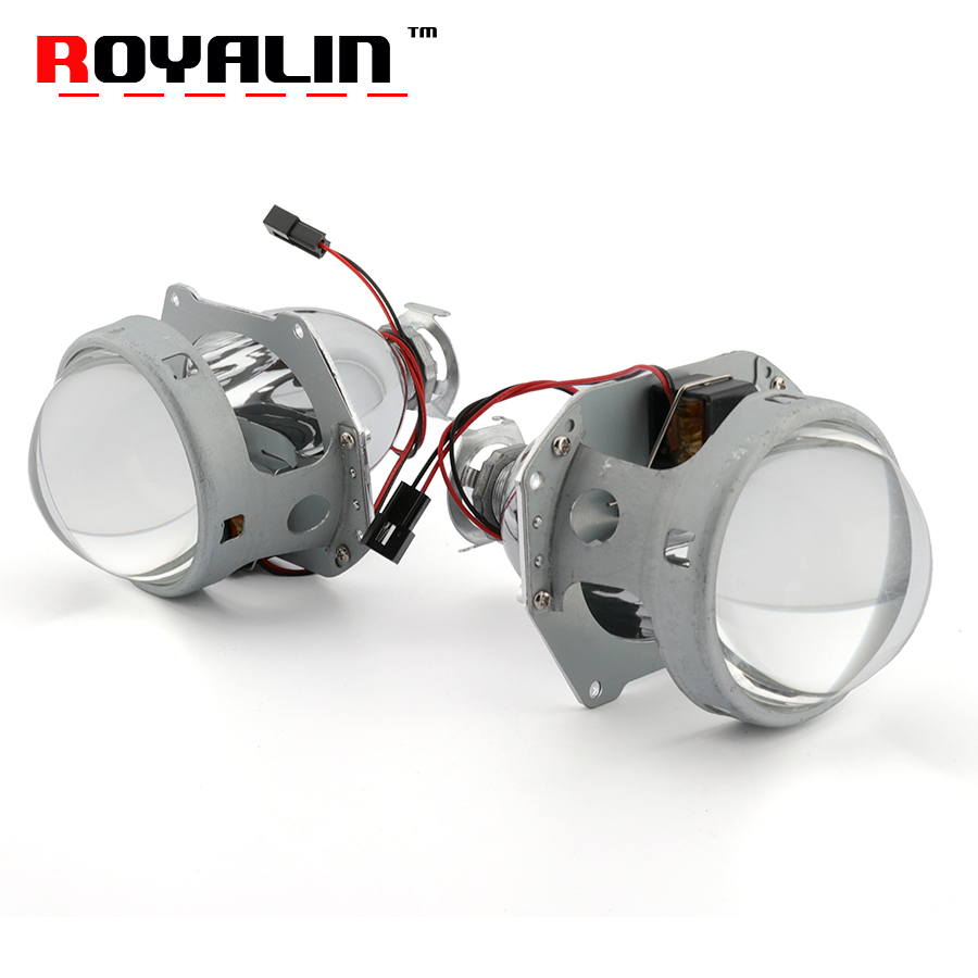 Здесь продается  ROYALIN Upgrade G2 Metal Projector Lens 35W 55W HID Bi-Xenon Mini 3.0 H1 Headlight Lens LHD Car Styling for H1 H4 H7 Auto Lamps   Автомобили и Мотоциклы