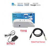 Itead Sonoff TH 10A/16A,Temperature Humidity Monitor Sensor Switch,WiFi Wireless Smart Home Remote Control Switches Via Ewelink