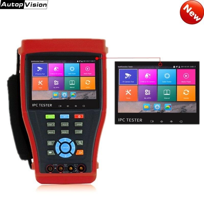 H.265 4 K IP caméra testeur 4.3 pouces écran POE 8MP TVI CVI 5MP AHD SDI caméra CCTV testeur moniteur avec UTP/RJ45 test IPC4300 Plus