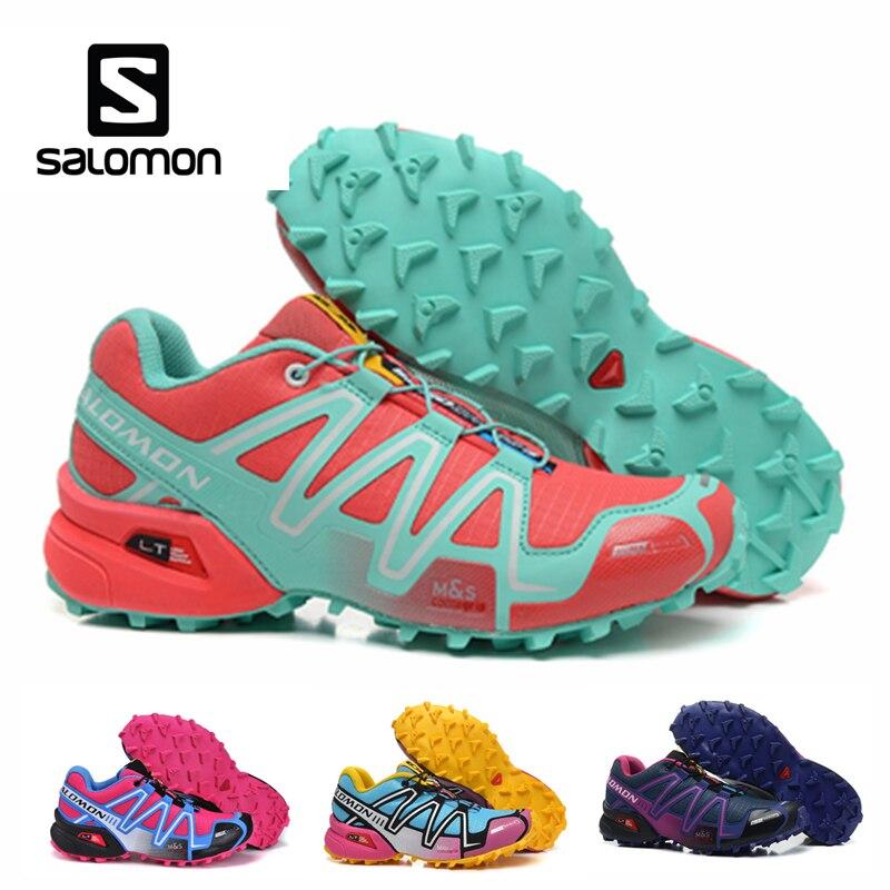 Salomon Speedcross 3 CS Sport All'aria Aperta Scarpe Da Donna Traspirante Atletica Solomon Femminile Corsa e Jogging Velocità croce Scherma Scarpe