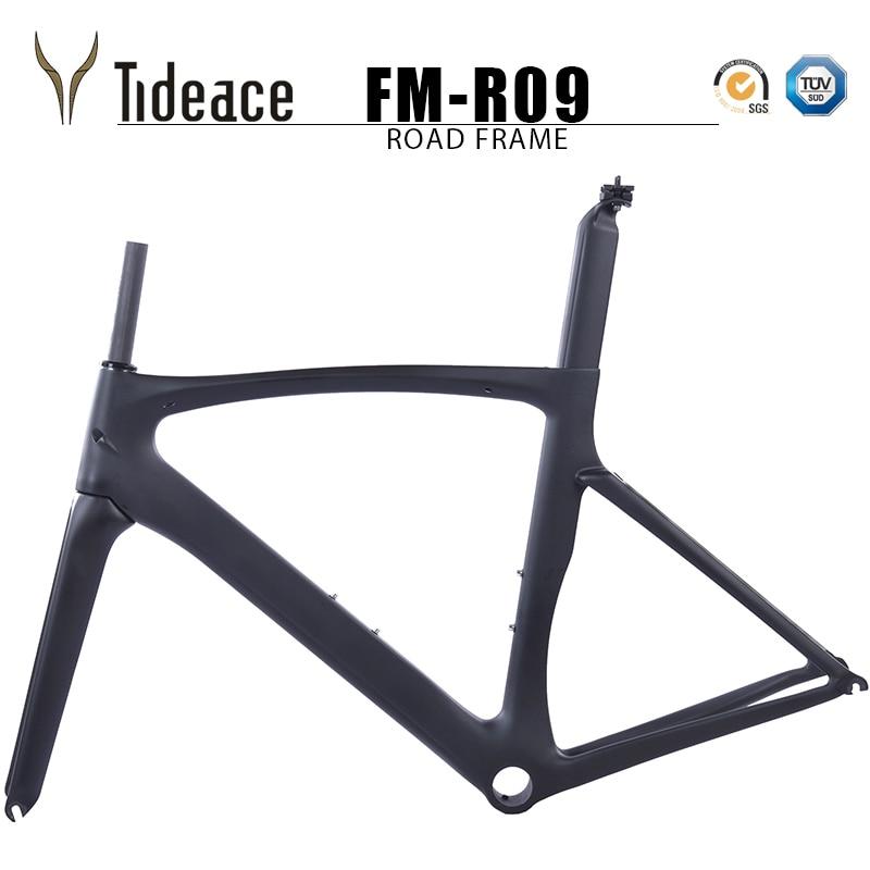 2019 Carbon Road Bike Frame Chinese Carbon Road Frame Cycling Bicicleta 56cm PF30 Road Bike Frame Road Carbon Frameset