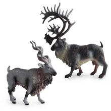 Simulate Reindeer Shape Animal Modeling Toy Store Decoration