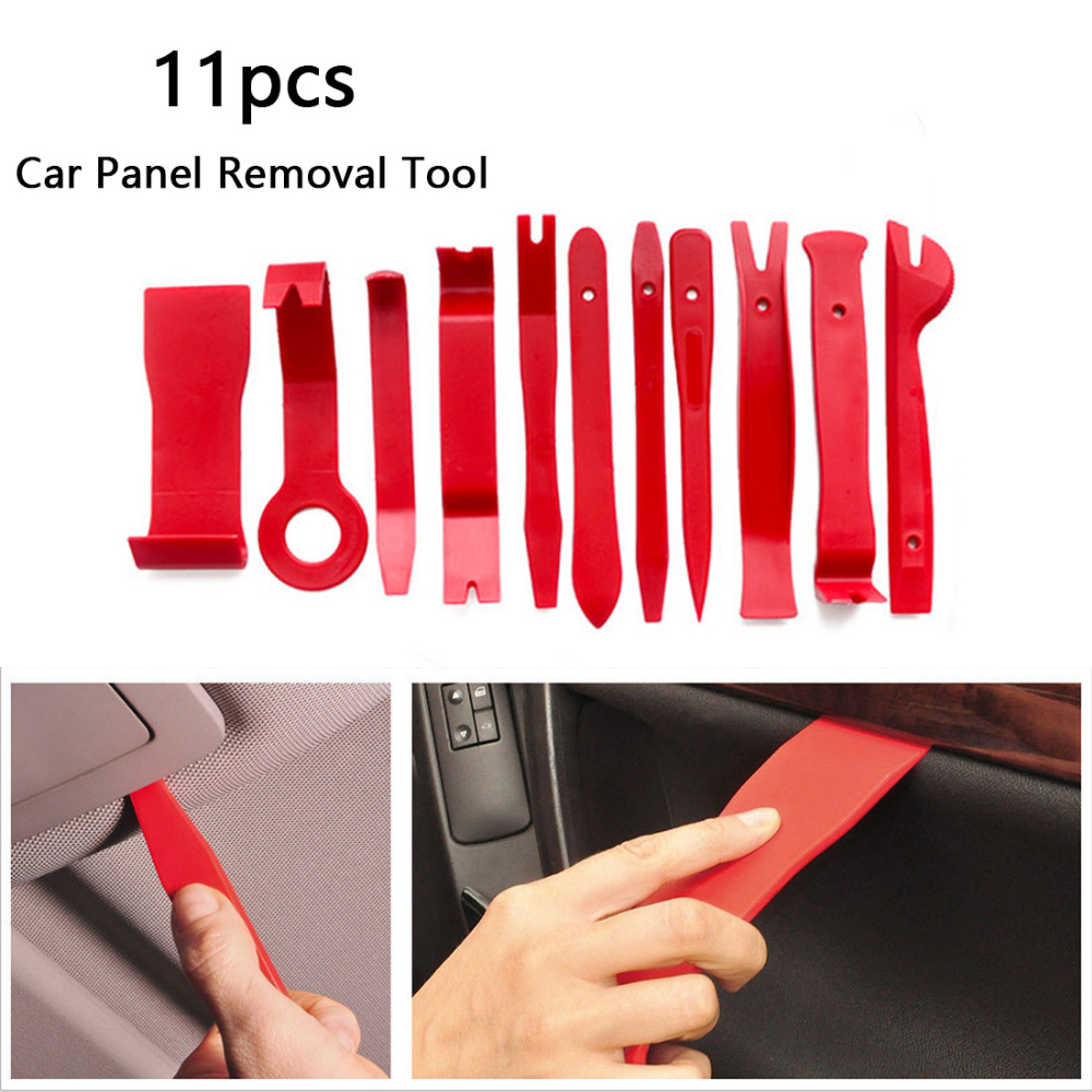 Image 5 - BU Bauty 11pcs Professional Car Vehicle Door Dash Trim Tool Panel Molding Clip Retainer Removal Pry Tool Set Car Auto Tool Kit-in Cockpit Care from Automobiles & Motorcycles