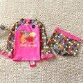 Niños UV Protección Solar traje de Baño Trajes de Baño para Niñas de Dibujos Animados de Natación Traje de Baño de La Muchacha Traje