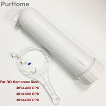 Reverse Osmosis 3013 Housing for RO Membrane 3013 400 gpd/3013 600gpd With All Fittings Water Filter Accessories