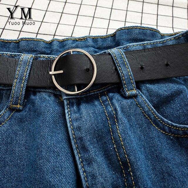 YuooMuoo All Match Sashes Casual Women Denim Shorts Crimping High Waist Slim Summer Jeans Shorts Feminino Chic Hot Ladies Bottom 3