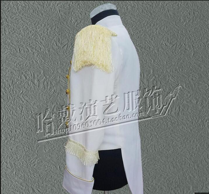 Здесь продается  EXO Star Style Singers DJ DS Stage Performance Tassel Tuxedo Show White Jacket Coat Clothing   Одежда и аксессуары