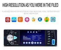 1 Din 4.1 Inch Audio Car FM Radio Android Multimedia Mp5 Player Autoradio Bluetooth Audio Auto Stereo Touch screen GPS Bluetooth