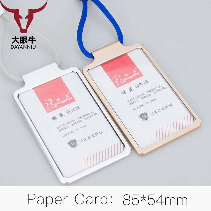 Aliexpresscom  Buy Middle clerk working ID card holder Exhibition identification card cover