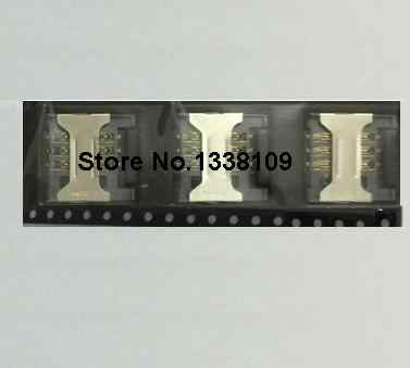 50 шт./лот абсолютно новый для ZTE Blade L2 SIM card reader лоток Разъем Держатель модуля new cell
