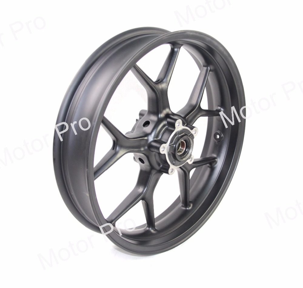 Front Wheel Rim For Triumph Tiger 1050 2007 - 2013 Motorcycle Accessories Black 2008 2009 2010 2011 2012 07 08 19 10 11 12 13 for triumph tiger 800 tiger 1050 tiger explorer 1200 easy pull clutch cable system