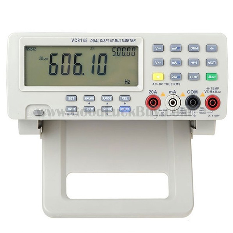VICI VC8145 Digital Bench Top DMM Multimeter Temperature Meter Tester PC Analog 80 000 counts Analog