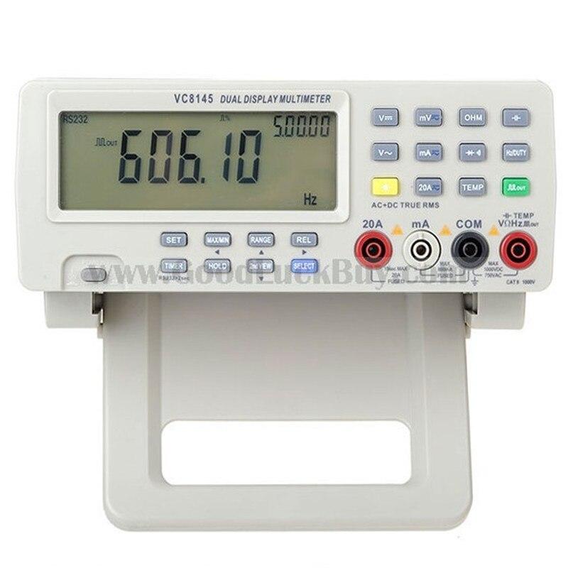 VICI VC8145 デジタルベンチトップ DMM マルチメータ温度計テスター Pc アナログ 80,000 カウントアナログバーグラフワット/23 セグメント  グループ上の ツール からの マルチメータ の中 1
