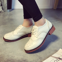 PU Leather Women Flats Shoes Moccasins Ballet Flats Woman Designer Vintage Flat Shoes Round Toe Creepers Oxford Shoes For Women