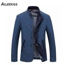 купить 2017 Winter Autumn Male Cargo Coat Casual Blue Khaki Men Wadded Jacket Stand Solid New Design Jackets Plus Size Man Tops XT307 по цене 1715.29 рублей