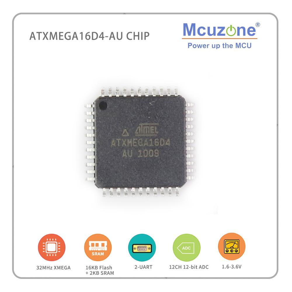 ATxmega16D4-AU ( ATMEL Xmega ) MICROchip AVR PDI UART XMEGA16D4 16D4 ATXMEGA