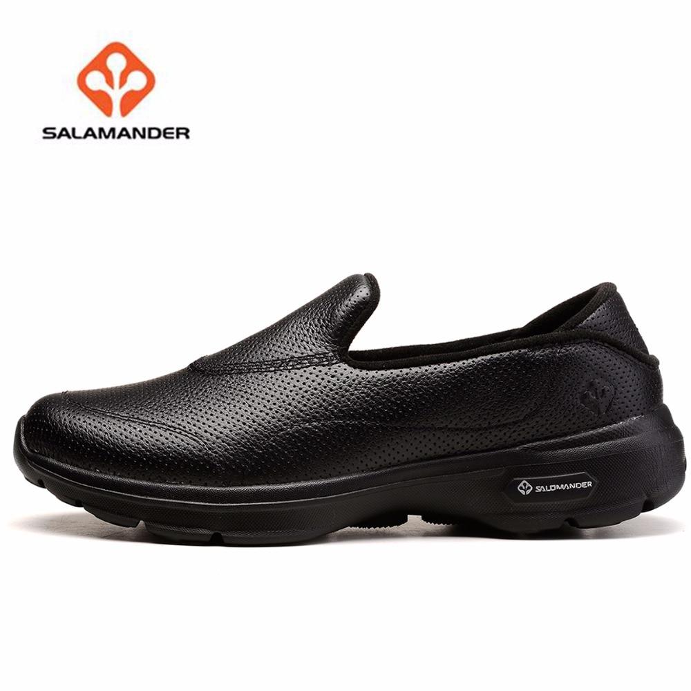 купить Salamander Unisex Bambas Outdoor Walking Shoes Sneakers For Women And Men Leather Sports Walking Trekking Shoes Sneakers недорого