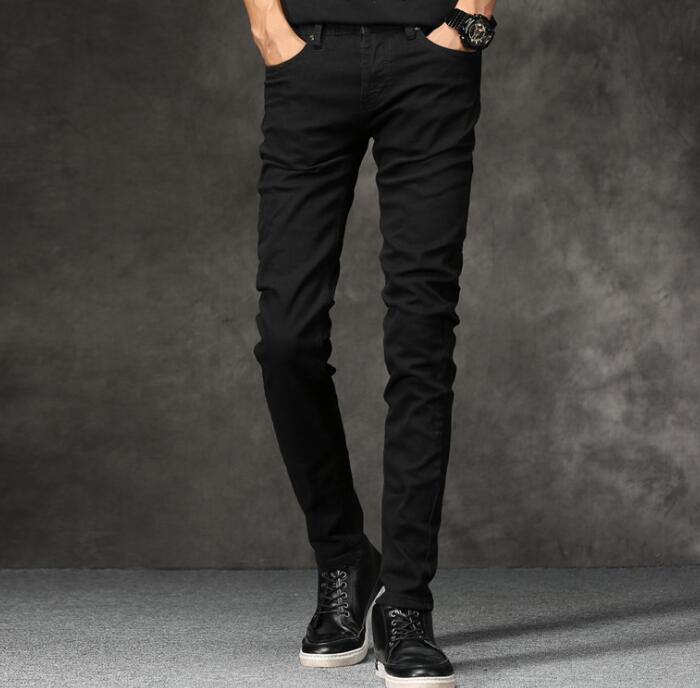 Spring New Stylish 2019 Hot Sales Men   Jeans   Discount Black Pants For Men Free Shipping