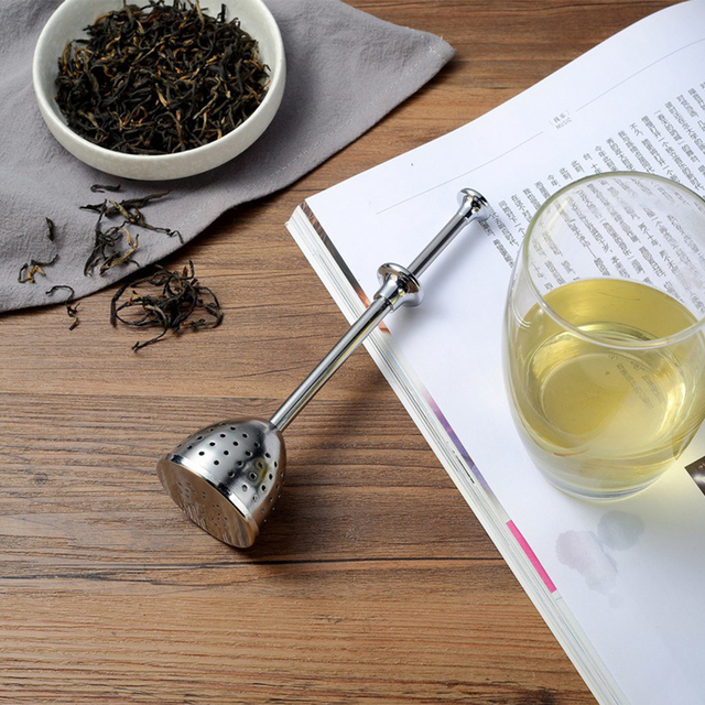 Stainless Steel Infuser Easy Clean Reusable Tea Strainer