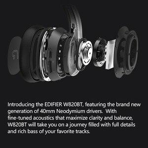 EDIFIER W820BT Bluetooth Kopfhörer CSR technologie Faltbare design drahtlose kopfhörer Dual batterien bis zu 80 stunden wiedergabe zeit