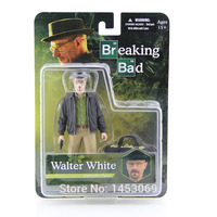 MEZCO Breaking Bad Heisenberg Walter White PVC Action Figure Collectible Figure Model Toy Classic Toys 6