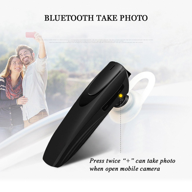 Mini Unilateral Bluetooth Headset with Microphone