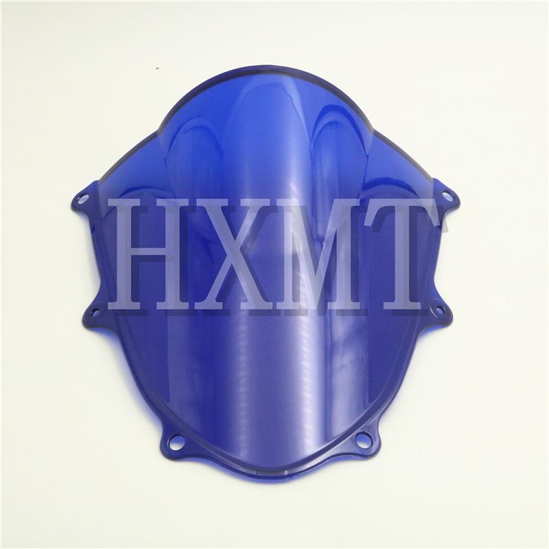 Для Suzuki GSXR 1000 R K9 K17 2017 2018 синий мотоцикл стеклоочистители ветрового стекла Double Bubble GSXR1000 R GSX GSX-R 1000