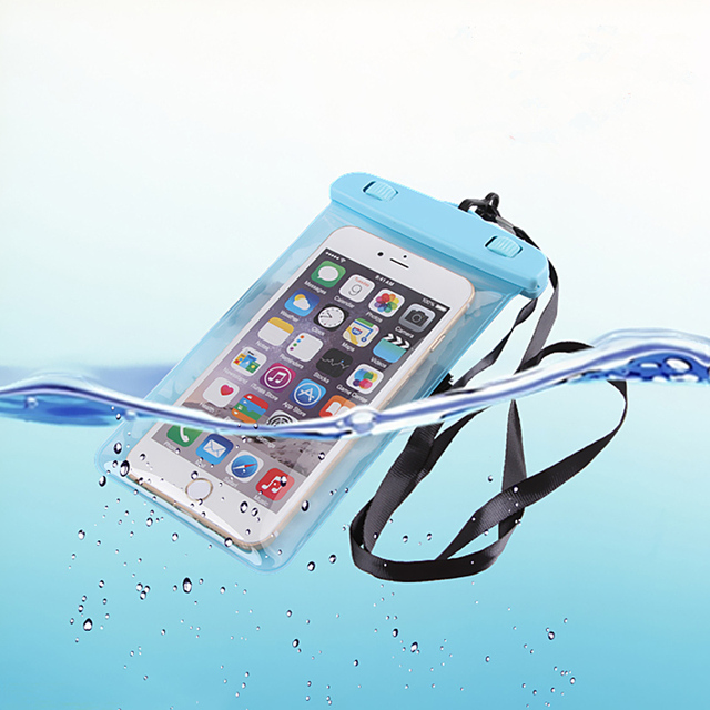 Waterproof soft clear PVC phone pouch bags case for samsung galaxy s8 J5 J7 J2 J3 A3 A5 A7 2016 note 5 s4 s5 s6 s7 sport  bags