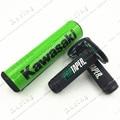 Про конус руль бар Pad + зеленый захваты KX125 KX250 KX250F KX450F KLX450 KX65 KX85 KX500 байк мотокросс эндуро MX