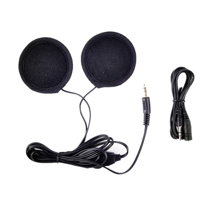 Motorcycle Moto Stuff Helmet Headset MP3 Earphone Headphone Sticker Helmet Riding Equipment Accessories for Motorcycle Helmet