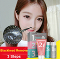 3PCS Remove Nose Blackhead Face Mask Peeling Acne Mask Skin Facial Care Pores Cleanser Shrinking Pores Clear Strawberry Nose