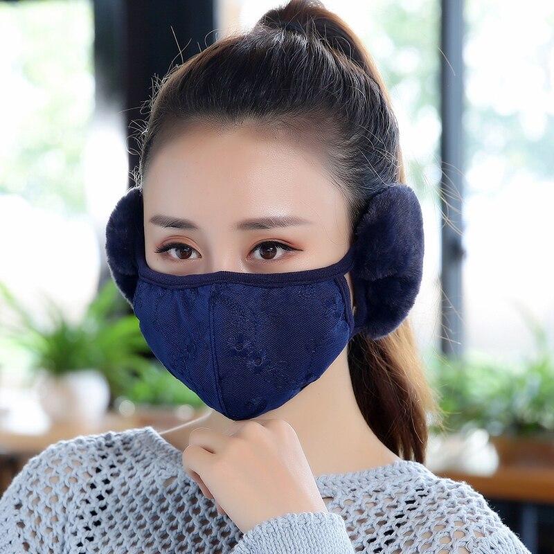 Masken Angemessen 8 Farben Neue Atmungsaktiv Wind Staubdicht Warmen Mund Muffel Antipollution Maske Für Frauen Wärmer Baumwolle Waren Jeder Beschreibung Sind VerfüGbar