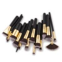 17 Pcs Makeup Brushes Foundation Blending Blush Eyeshadow Brush Women Beauty Make Up Maquiagem Cosmetic Tools