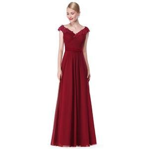 Image 3 - אמא של הכלה שמלות בתוספת גודל חדש אלגנטי קו V צוואר אפליקציות ארוך חתונת המפלגה שמלות 2020 Vestido novia מנגה