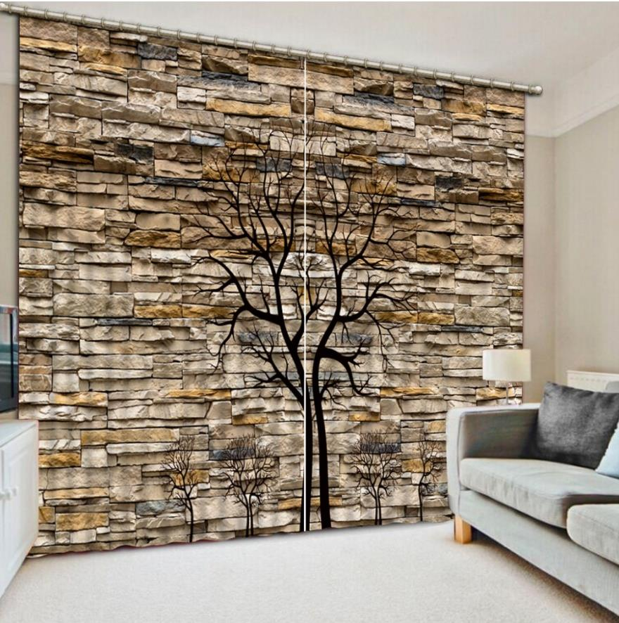 Cool wave beach sheer curtains 3d living room bedroom for Hotel decor for sale