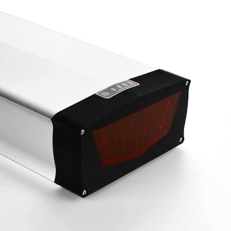 36V 250W 500W 1000w eBike Akku rear rack 36v 40Ah lithium Battery 36V 40Ah Electric Bike li-ion Battery