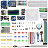 High Quality Starter Kit For Arduino Motor Breadboard Jumper Wire LED Lights USB Cable Resistance Kit